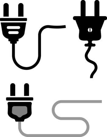 Plug Icon Vector Illustration