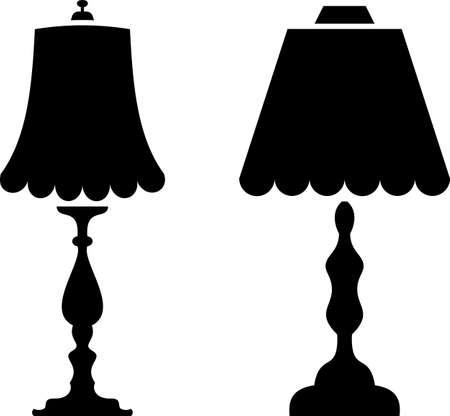 Table / Desk Night Lamp Vector Illustration Banque d'images - 149148712