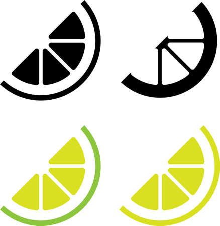 Lemon Icon Vector Illustration