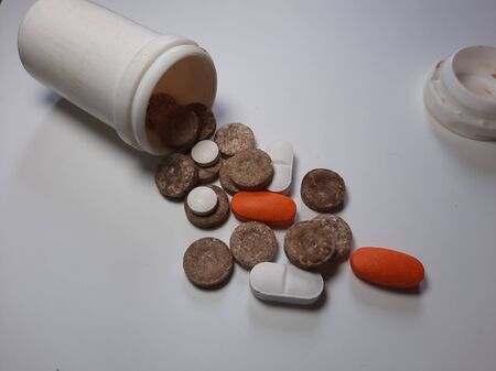 Medical Prescription Medicine Pills and Drug Abuse.