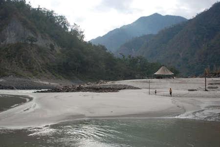 beach and rivers rishikesh