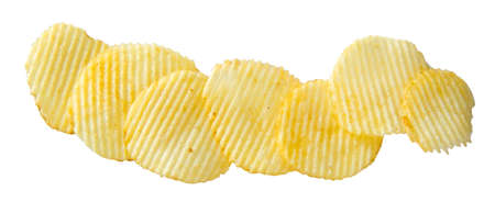 serrate: Potato chips