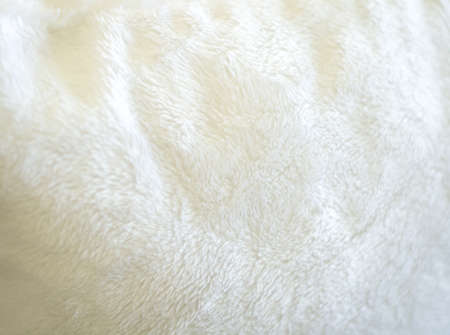 rug texture: Luxurious wool texture from  white sheepskin rug Stock Photo
