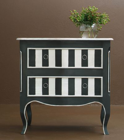 Hand crafted classic wooden dresser photo