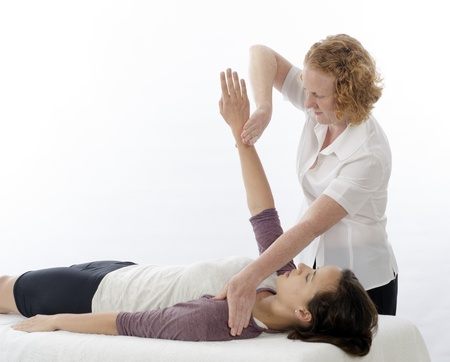 physiotherapist: Kinesiologist or physiotherapist treating Pectoralis major