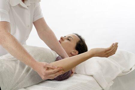 fisioterapia: Kinesi�logo o romboides el tratamiento de fisioterapeuta
