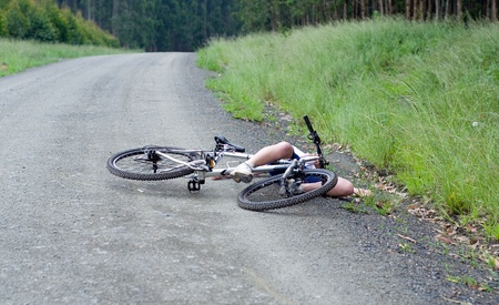Bicycle accident photo