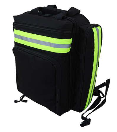 Black first aid bag