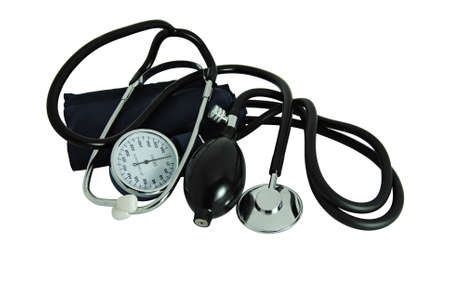 Stethoscope to measure blood pressure and listen to heartbeats - medicine