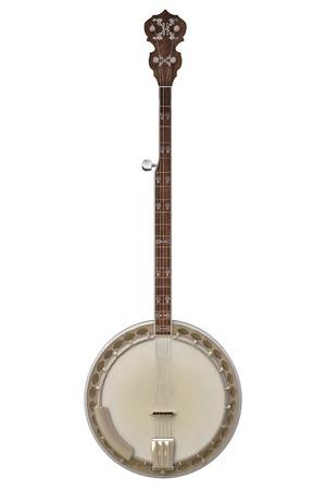bluegrass: Banjo Stock Photo