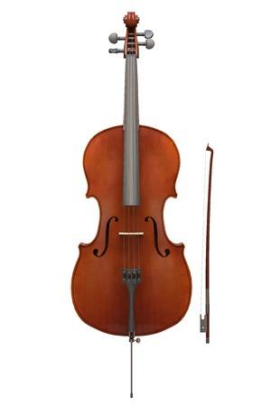 fiddles: Cello instrument Stock Photo