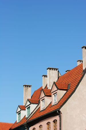 Old town roofs (Riga, Latvia)