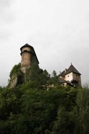 Photo of the Orava castle (Slovakia)