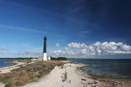 baltic: Old lighthouse at Saaremaa island (Estonia)