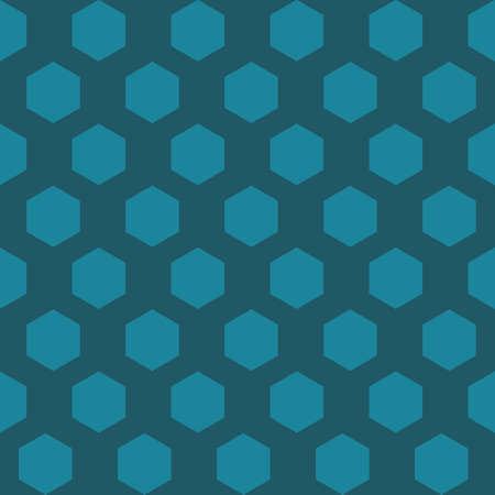 Vector background of the many hexagons.