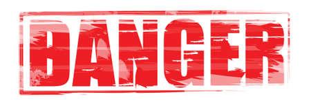 danger sign Stock Vector - 12848199