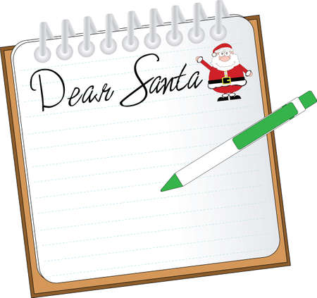 dear: dear santa Illustration