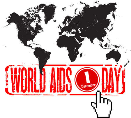 aids: world aids day Illustration