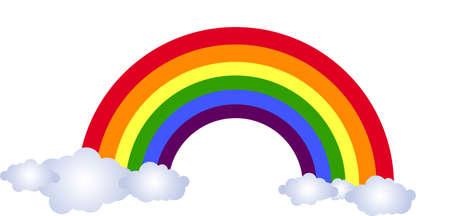 wather: rainbow Illustration