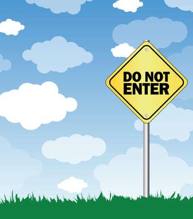 do not enter: do not enter