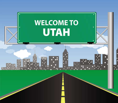 welcome to Utah Illustration
