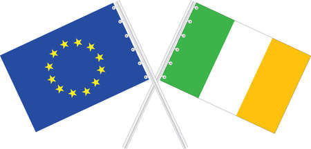 EU and Ireland Stock Vector - 16113137