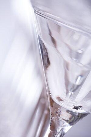Wine glass closeup