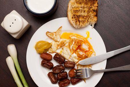 un healthy:  Un healthy breakfast