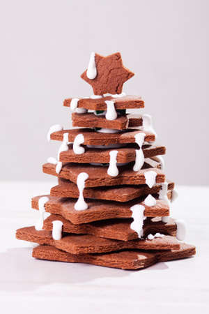 Cake in form of christmas tree Stock Photo - 15823431
