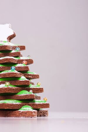Gingerbread as christmas tree photo