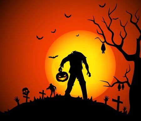 halloween background: Halloween background