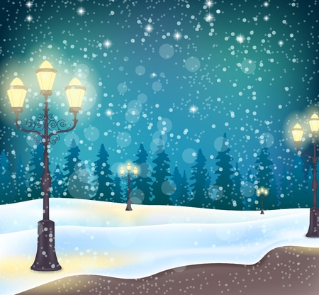 christmas gift box: Christmas background