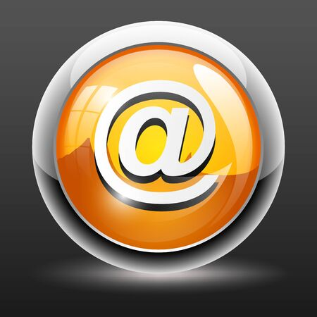 chatbox: email button icon isolated on white
