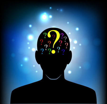 head of the human mind, consciousness, imagination, science and creativity