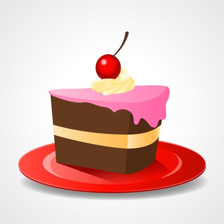 piece of cake: Cakes piece or pie slice
