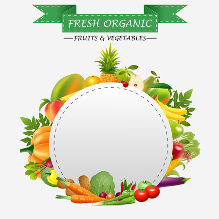 empty plate: Empty plate with fruits and vegetables