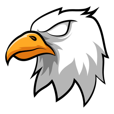 Angry Eagle Head Mascot