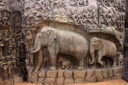 pallava: Arjuna cave-ancient architectural wonders of the Pallava kings
