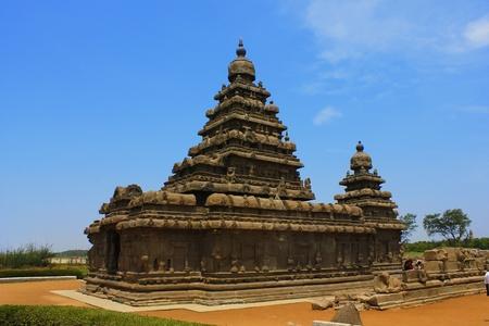 pallava: Shore temple—Mahabalipuram,chennai, India  Stock Photo