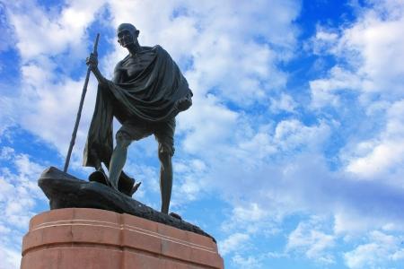 mahatma: Statue of Mahatma Ghandi