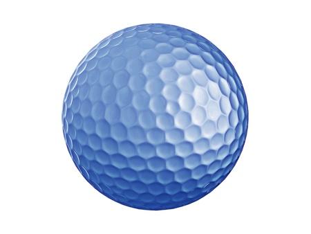 Golf ball-blue