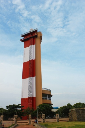 Lighthouse ,chennai Stock Photo