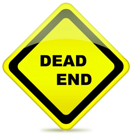 A Dead End sign