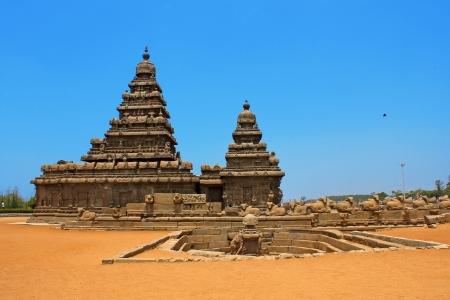 Shore temple Mahabalipuram, India  Stock Photo