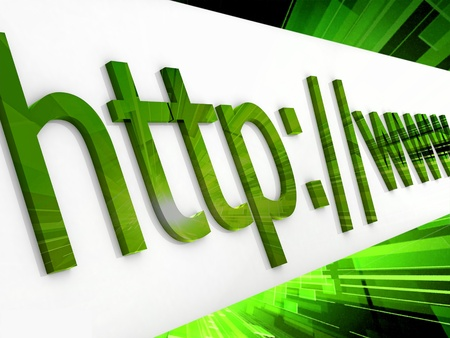 https: https protected web page Stock Photo