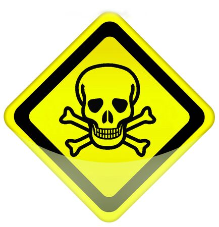 Danger traffic sign