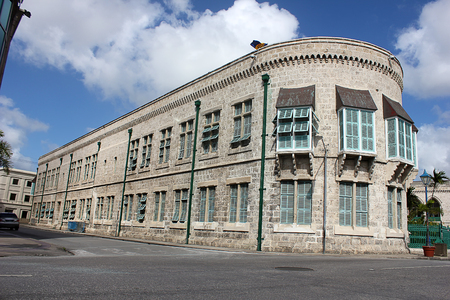 West Wing of the Parliament Building of Bridgetown, Barbados