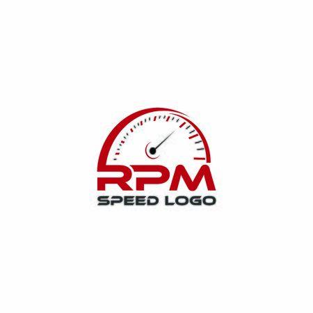 Illustration Vector Graphic rpm logo for inspiration Logo