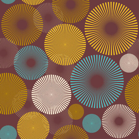 abstract seamless pattern with trendy elements photo