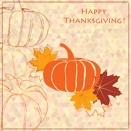 Thanksgiving background design